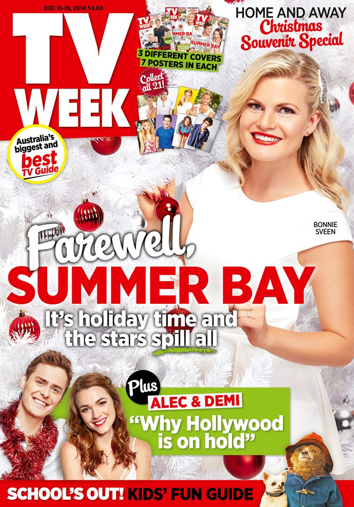 2014: A Summer Bay Christmas featuring Bonnie Sveen.