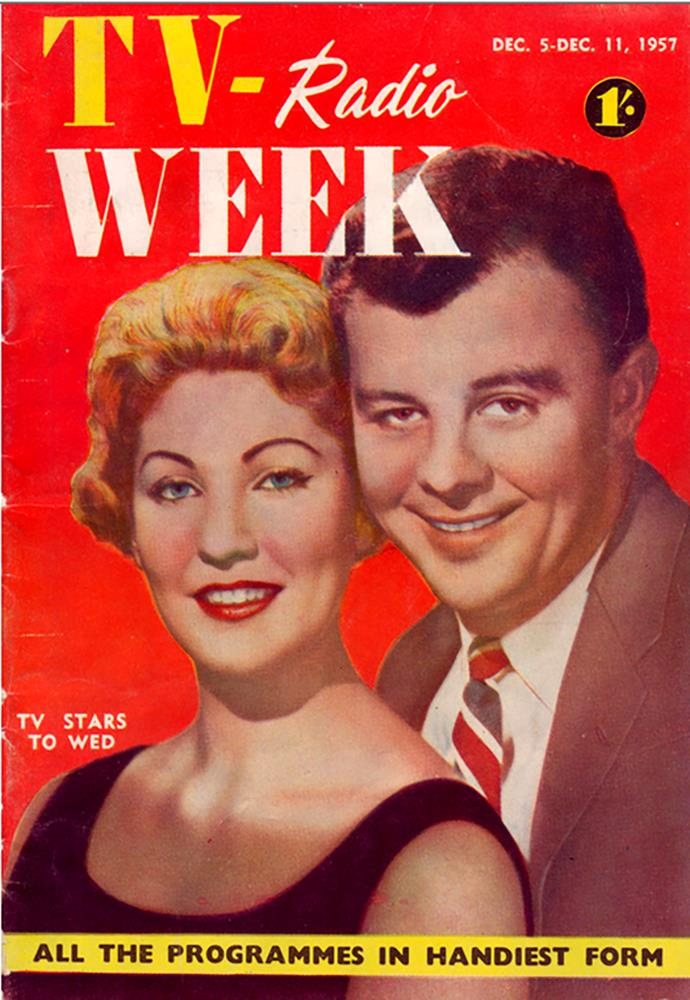 The very first issue of TV WEEK - Dec 5-11, 1957.