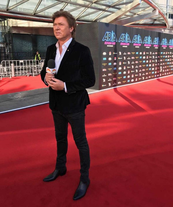 *Today*'s Richard Wilkins is ready to report for duty.