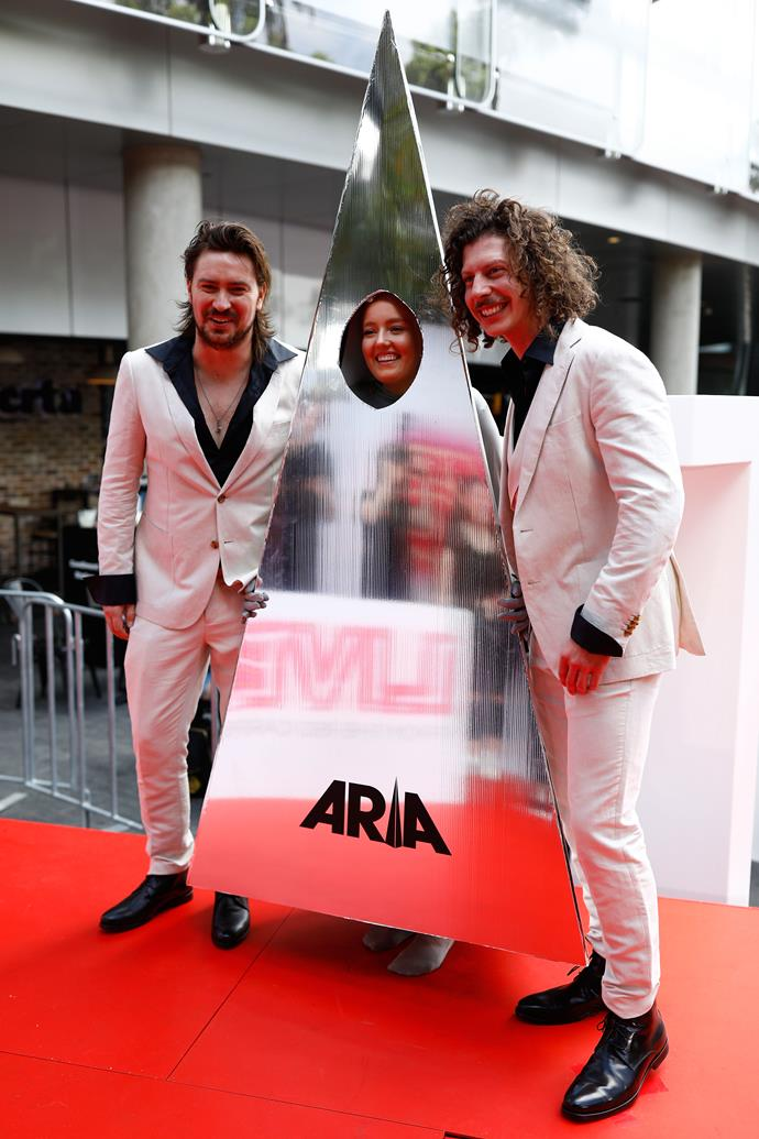 Why win an ARIA Award when you can *be* one?