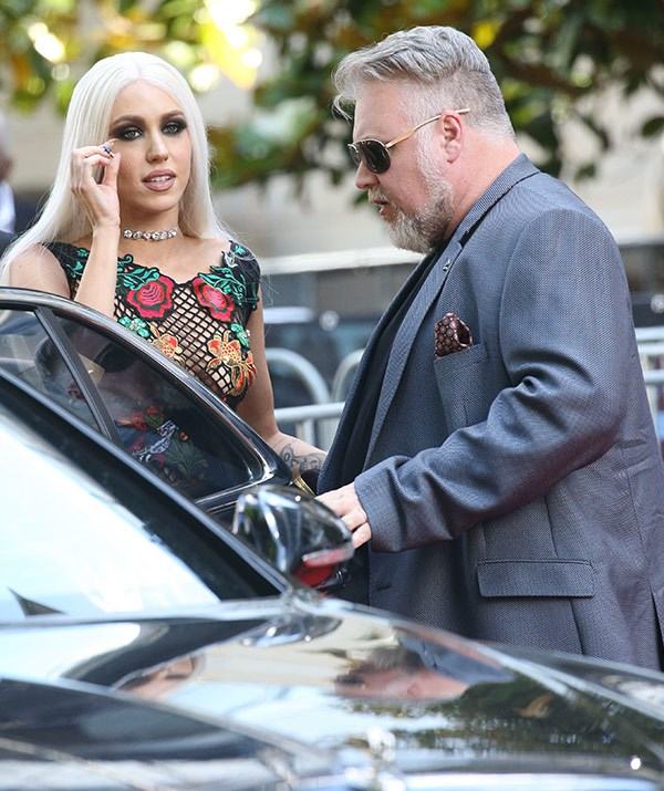 It's going to a fun night for Soph, with her BFF Kyle Sandilands rocking up with his lady Imogen Anthony.