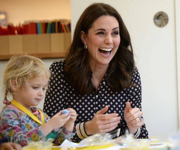 During the visit, the Duchess met with families and children who have benefited from the museum's education and outreach programs.