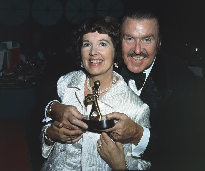 **1957:** **Bob Dyer's** radio game show *Pick-A-Box* became a television phenomenon as it switched to the screen. Hosted by Bob and wife Dolly, *Pick-A-Box* was on TV for more than 14 years and clocked up 900 episodes. Bob won a TV WEEK Gold Logie in 1961, and was also named TV Quizmaster Of The Decade at the 1968 Logie Awards.