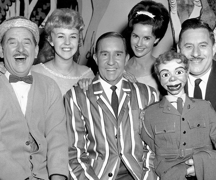 **1957:**Aussie drama was also born with the serial *The House On The Corner*, and local soapie *Autumn Affair*. *The Tarax Show* was one of our first children's TV shows.