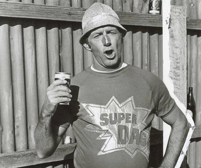 "**1973:** Former Sydney Harbour Bridge rigger Paul ""Hoges"" Hogan turned a spot on a talent show into a career with his own series, *The Paul Hogan Show*. Mike's appeal created midday magic."