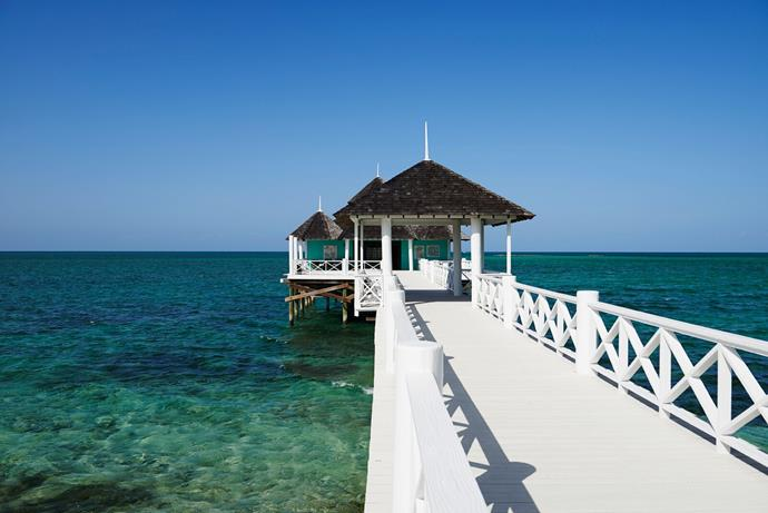 The intimate, family-run private island is accessible only by the resort's private ferry, helicopter or sea plane.