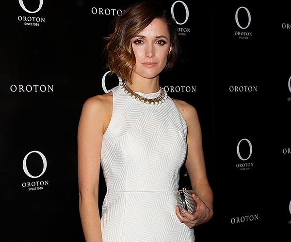 Australian actress Rose Byrne was Oroton's most recent celebrity ambassador.