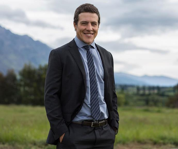 Stephen as Detective Levine.