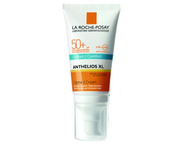 "La Roche-Posay Anthelios Xl Comfort Cream SPF 50+, $28.95, [Chemist Warehouse.](http://www.chemistwarehouse.com.au/buy/81536/La-Roche-Posay-Anthelios-XL-Comfort-Cream-SPF-50-50ml|target=""_blank""