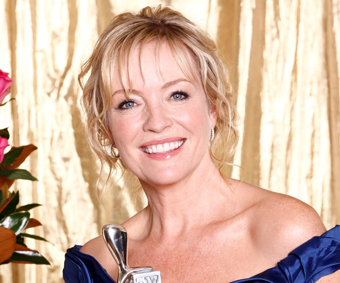 **#8 Rebecca Gibney** In the 1980s, Rebecca first became a TV WEEK cover star. She was playing Emma Plimpton in *The Flying Doctors*, and Emma's relationship with Sam Patterson (Peter O'Brien) was hot! During the 1990s, when Rebecca starred in *All Together Now*, readers wanted to know all the details of her real-life romance with Jack Jones from Aussie rock band Southern Sons. But her star shone brightest in 2008 as suburban mum Julie in *Packed To The Rafters*.