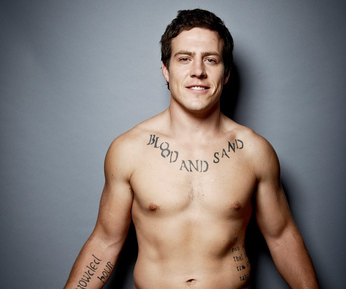 """**#10 Stephen Peacocke** It seems everyone loves a bad boy – especially when that bad boy is played by former *Home And Away* hunk Stephen. TV WEEK readers were mad for anything featuring the labourer-turned-actor as Summer Bay's Darryl """"Brax"""" Braxton. The actor has had an impressive 50 covers for the magazine. There could never be too many shirtless shots showing off Brax's """"Blood And Sand"""" tattoo – and those pecs."""