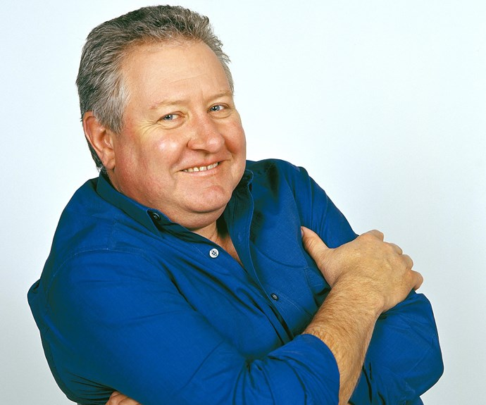 """**#26 John Wood** Best known for his role as Senior Sergeant Tom Croydon in long-running police drama *Blue Heelers* and as magistrate Michael Rafferty in *Rafferty's Rules*, John is a veteran of the stage and small screen. """"I love the business and being an actor,"""" the Gold Logie winner says of his career. John, 71, says his 12-year stint in *Blue Heelers* was his most memorable."""