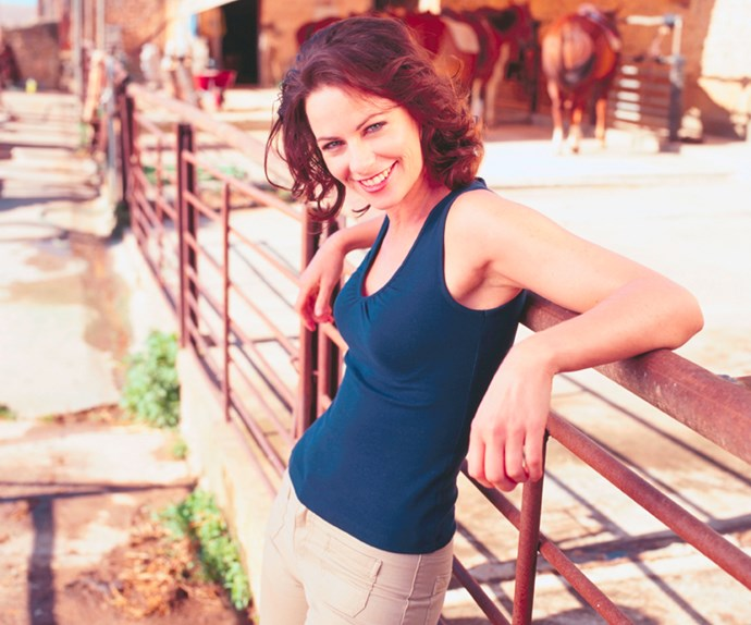 **#37 Lisa Chappell** *McLeod's Daughters* dominated TV screens in Australia from 2001 to 2009. Her portrayal of farmer Claire McLeod won the actress praise – and Logie Awards in 2002 and 2004. When Lisa, now 49, decided to leave the show in 2003, her character's death became one of the series' most memorable moments.