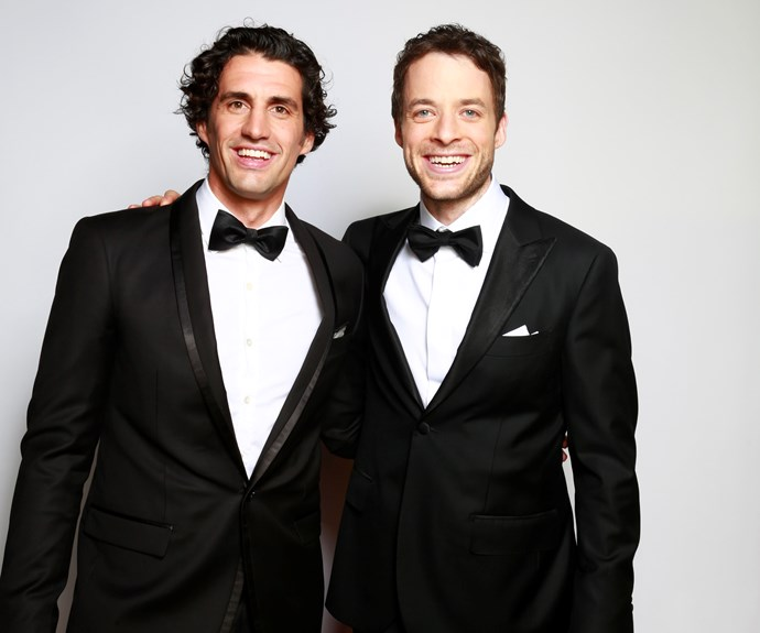 """**#56 Hamish and Andy** Part of the attraction of Hamish Blake, 35, and Andy Lee, 36, is throughout their TV efforts, they still seem like two mates clowning about. Speaking to TV WEEK in 2013, Hamish says, """"I still look at everyone else and get the feeling they know what they're doing, and they're good on TV – but I'm not, and I'm an imposter."""""""