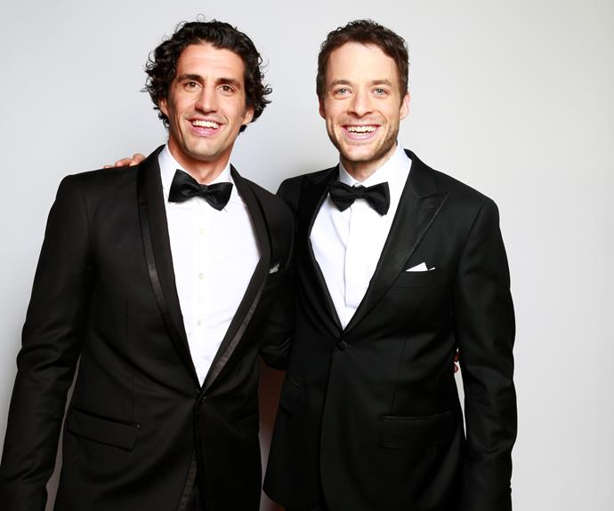 "**#56 Hamish and Andy** Part of the attraction of Hamish Blake, 35, and Andy Lee, 36, is throughout their TV efforts, they still seem like two mates clowning about. Speaking to TV WEEK in 2013, Hamish says, ""I still look at everyone else and get the feeling they know what they're doing, and they're good on TV – but I'm not, and I'm an imposter."""