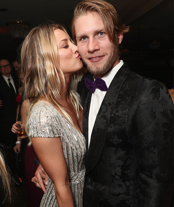 Kaley Cuoco is engaged to Karl Cook! See the emotional proposal video