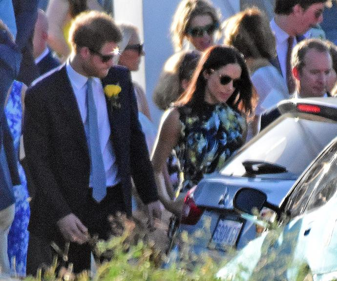 When Meghan and Harry attended a wedding in Jamaica a few months ago, outlets went to town on the fact it was the same place where Meghan tied the knot in 2011. **(Image/Mega)**