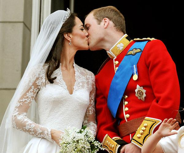 The beloved couple threw a lavish wedding reception at Buckingham Palace on 29 April 2011.