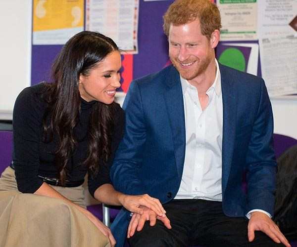"""We're two people who are really happy and in love."" **Meghan Markle**"