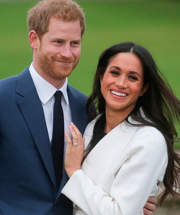 """I could barely let [him] finish proposing, like, 'Can I say yes now?!'"" **Meghan Markle**"