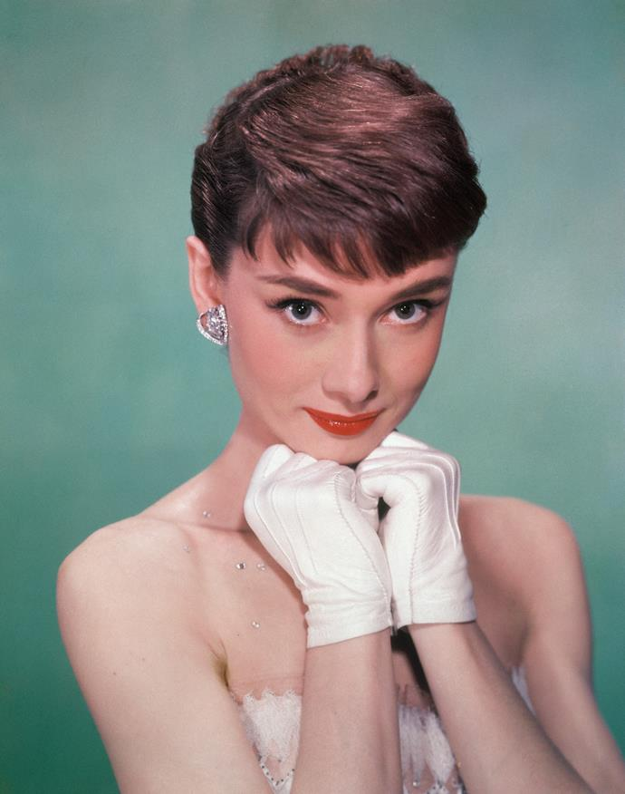 **1950 – Audrey Hepburn** One of the most cherished style icons of the twentieth century, Audrey Hepburn's film career kicked off in the fifties.