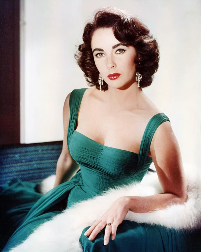 **1951 – Elizabeth Taylor** With her hourglass figure and signature scarlet lip, Elizabeth Taylor was the ultimate fifties icon.