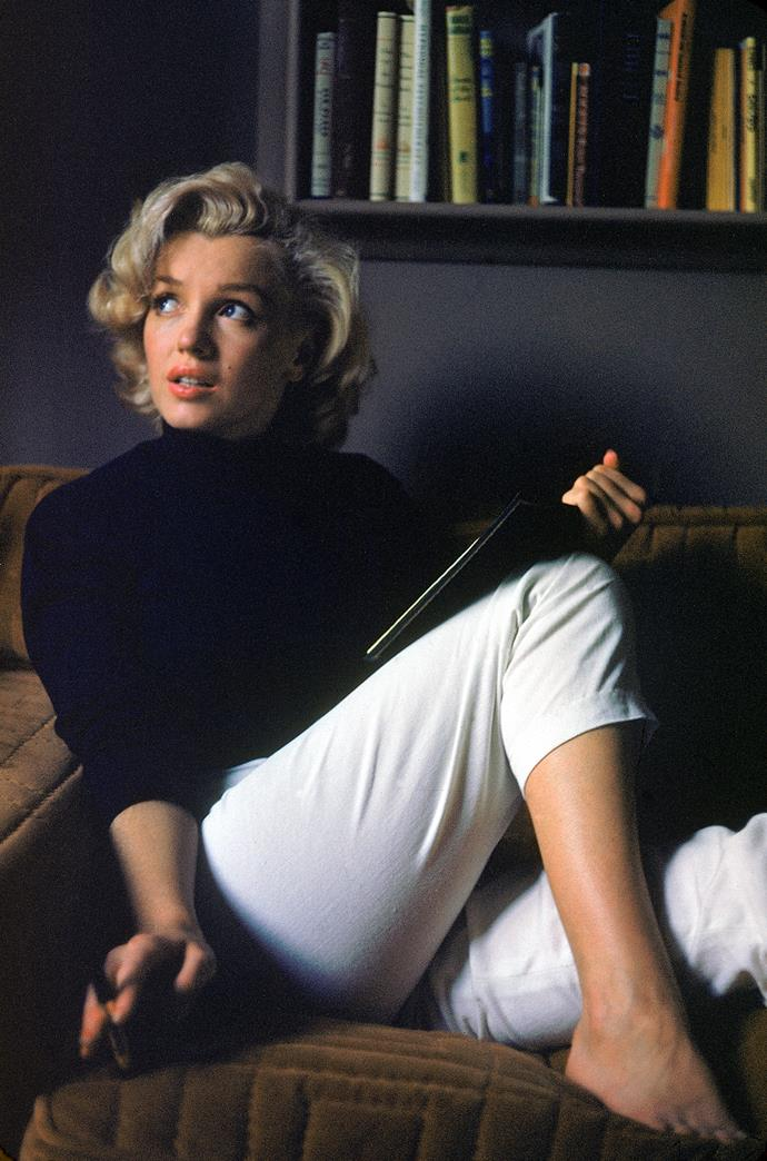 **1953 – Marilyn Monroe** No look back at style would be complete without a mention of Marilyn Monroe. 1953 was a breakthrough year for Marilyn with roles in Gentlemen Prefer Blondes and Niagara.