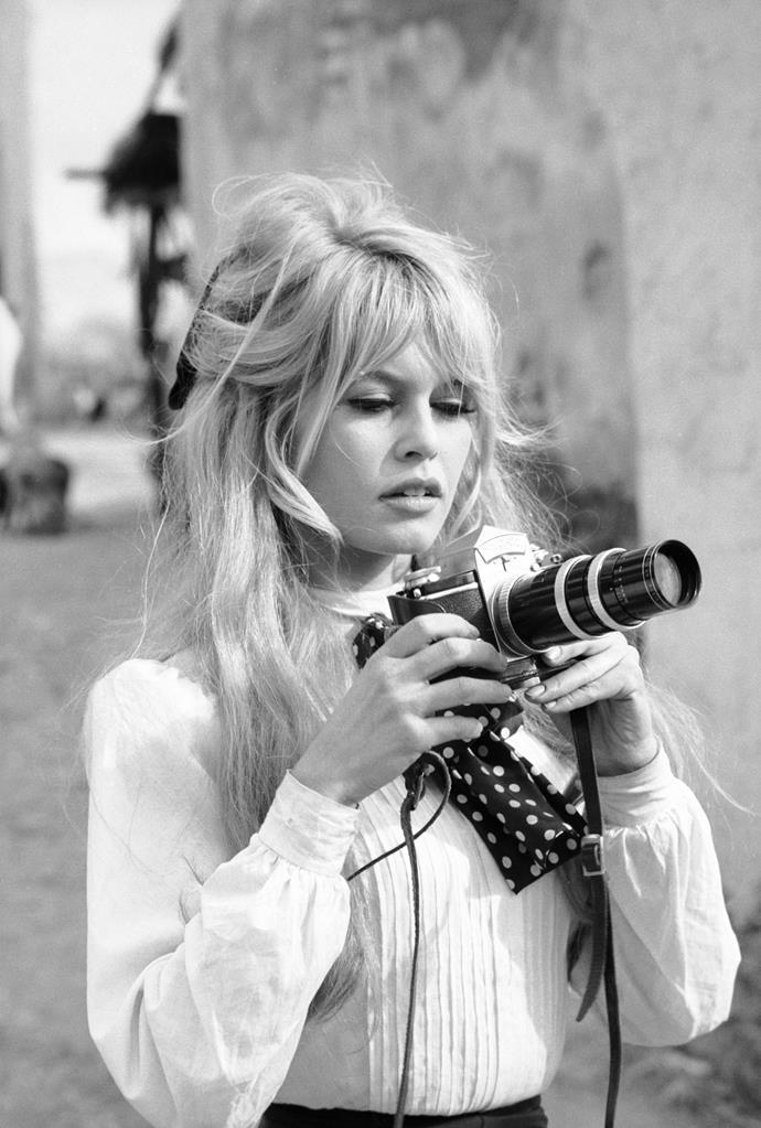 **1956 – Brigitte Bardot** A natural brunette, Bardot's career turned around when she became a blonde bombshell in 1956.