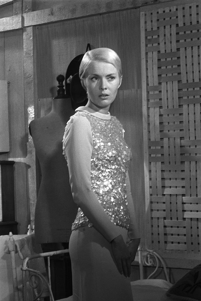 **1957 – Jean Seberg** In 1957 the elegant French actress made her film debut in the title role of Saint Joan.