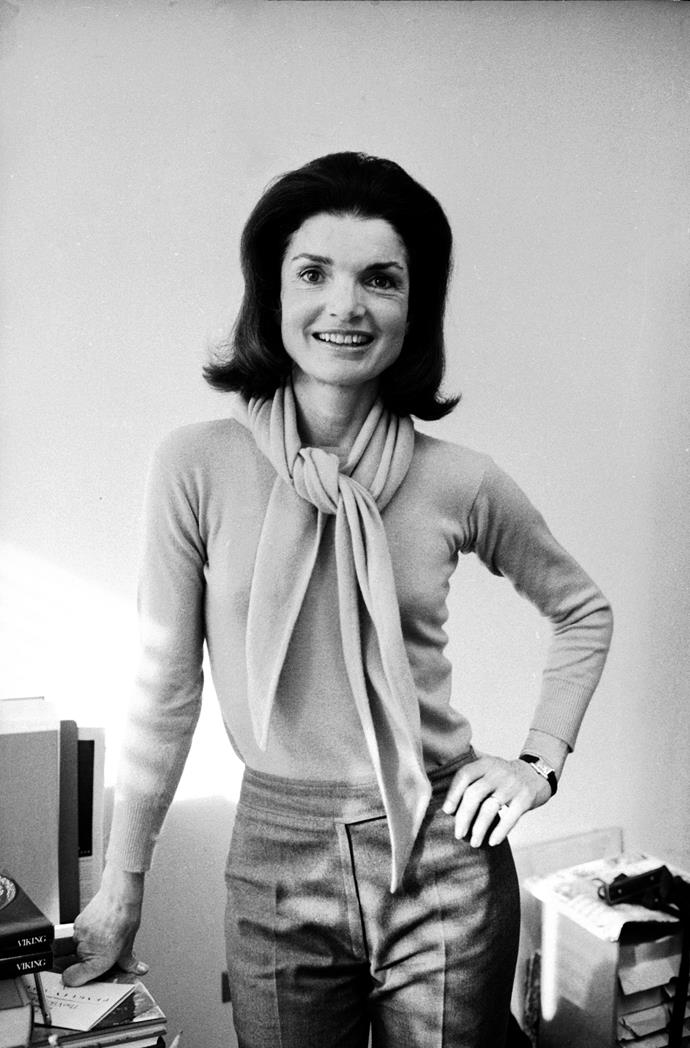 **1960 – Jackie Kennedy** A fashion icon and lover of pink way before millennials, Jackie Kennedy's exquisite style never dates.
