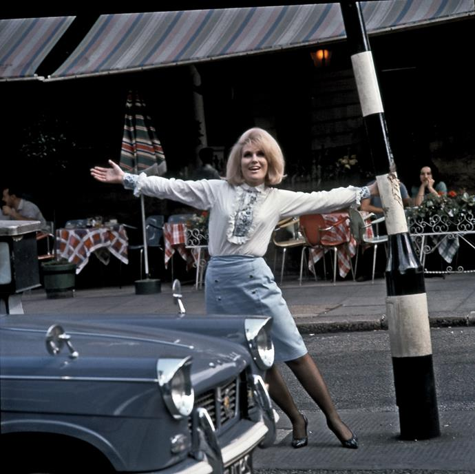 **1963 – Dusty Springfield** One of the most iconic sounds of the sixties, Springfield was also adored for her big lashes, bigger hair and her love of a column dress.