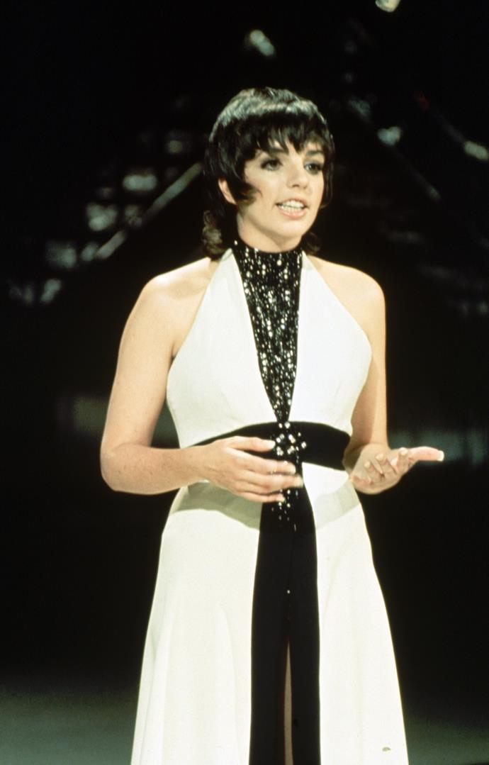 **1972 – Liza Minelli** Gaining worldwide success for her Academy Award-winning role in the 1972 musical film Cabaret, Minelli will always be remembered for her glittering seventies style.