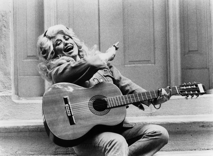 **1973 – Dolly Parton** We love the country star for her commitment to voluminous blonde hair and OTT style.