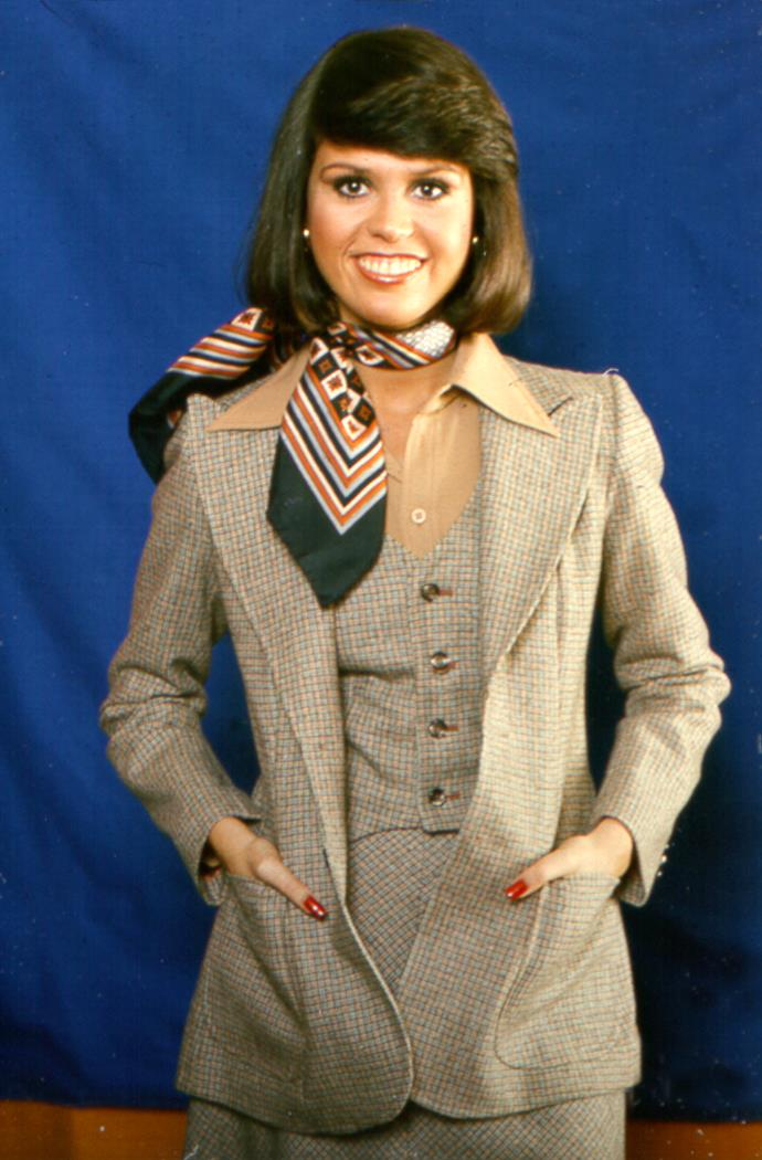 **1980 – Marie Osmond** The singer and member of the showbiz family epitomised the glamorous style of the eighties.