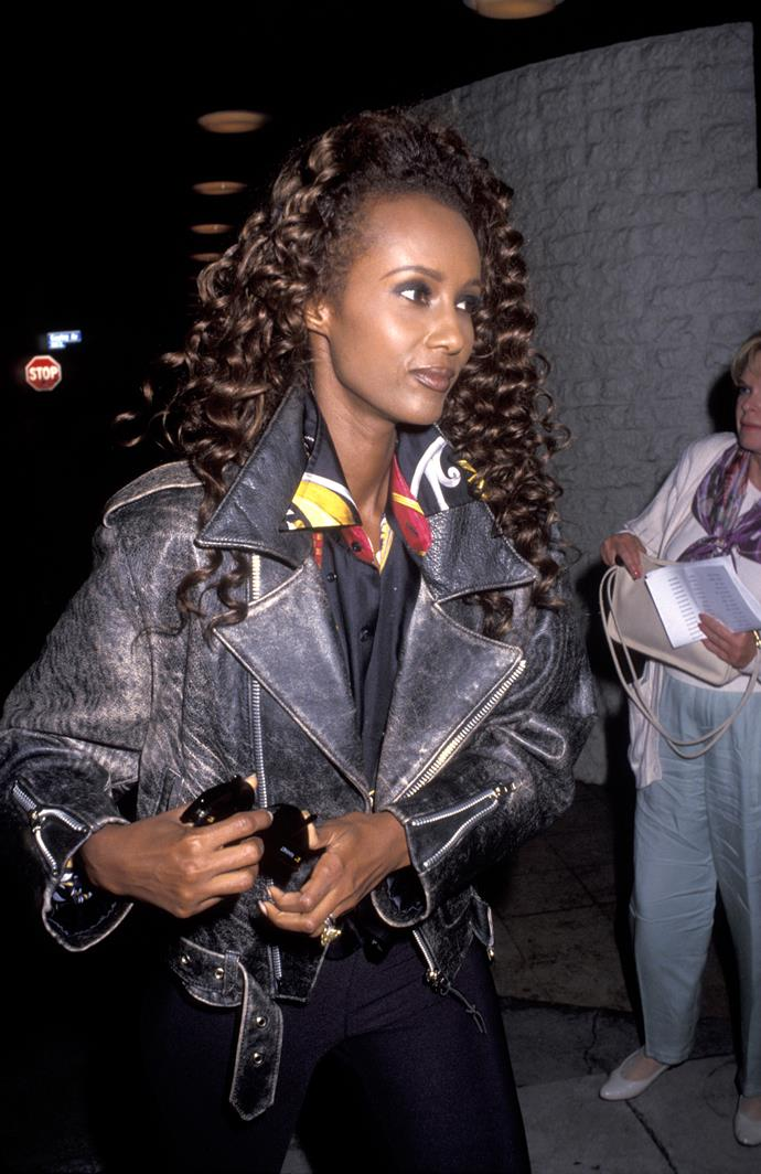 **1987 – Iman** Model, YSL muse and wife of David Bowie, Iman was also known for her exquisite taste in clothes.
