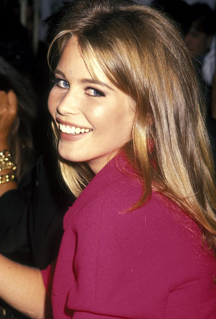 **1992 – Claudia Schiffer** Another member of the nineties supermodel elite, in the nineties the German model was a GUESS girl and the face of Chanel.