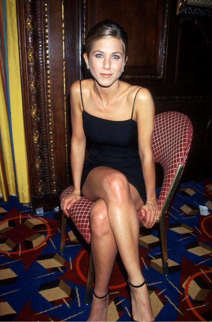 **1997 – Jennifer Aniston** While all anyone could talk about when it came to her character Rachel was that haircut, on the red carpet Jennifer Aniston gave us style inspo by the bucketload.