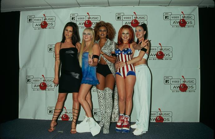 **1998 – The Spice Girls** We couldn't choose just one member of The Spice Girls – to us they're all style icons!