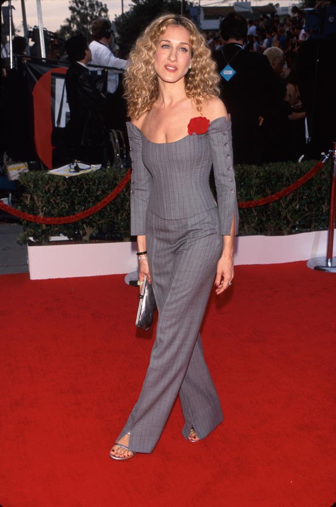 **2000 – Sarah Jessica Parker** Both SJP and her shoe-loving alter ego Carrie Bradshaw were late noughties style icons.