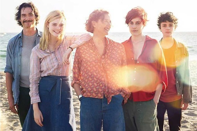 **20th Century Women** *20th Century Women* is director Mike Mills' love letter to the women who raised him. The 'women' of the title are the perfectly cast Annette Bening, Greta Gerwig and Elle Fanning, just spanning three almost-generations. Set in '70s Santa Barbara, Bening plays a hippyish single mother who, wanting to properly raise her teenage son (Lucas Jade Zumann), asks for help from a twenty-something cancer survivor (Gerwig) and his childhood friend (Fanning). If it's eluded you so far, watch it ahead of the 2018 release of Gerwig's coming-of-age tale and directorial debut, *Lady Bird*.