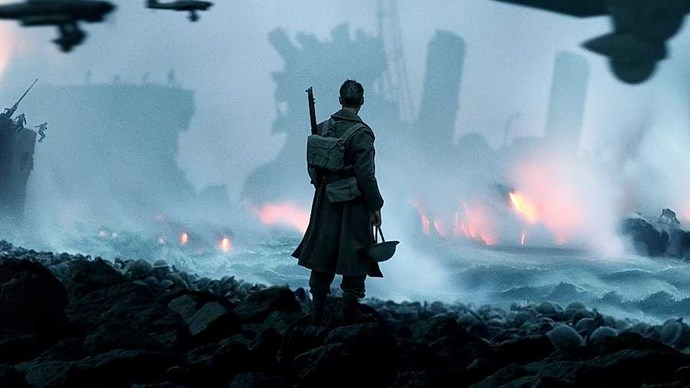 **Dunkirk** Tom Hardy. Cillian Murphy. Harry Styles. Yes, that Harry Styles. Christopher Nolan has assembled a predictably brilliant cast for his first film since Interstellar, and while the intriguing prospect of former One Directioner Harry's big-screen debut generated its fair share of headlines, *Dunkirk* has far more going for it than this teen-friendly cameo. This World War Two epic charts Operation Dynamo, the legendary evacuation of hundreds of thousands of British soldiers from the beaches of Dunkirk in everything from 'destroyer' warships to tiny fishing boats; a feat that's still considered something of a miracle today. From the piercing score by Hans Zimmer to newcomer Fionn Whitehead's standout performance to the typically Nolan three-part structure, this is not your dad's WW2 movie.