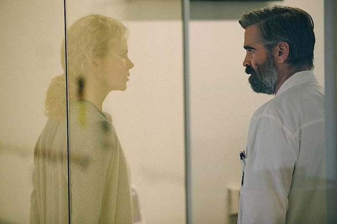 **The Killing Of A Sacred Deer** After The Beguiled comes this year's second (and arguably best) Colin Farrell – Nicole Kidman billing. *The Killing Of A Sacred Deer*, arthouse director Yorgos Lanthimos' second English-language film, is surreal and harrowing, its humour pitched even blacker than his 2015 sleeper hit The Lobster. Farrell is a seemingly successful surgeon who attempts to welcome a clearly troubled teen, played by *Dunkirk*'s Barry Keoghan, into his picture-perfect family. What follows is a dreamily shot and unbearably visceral riff on the Greek tragedy of Iphigenia – with the added bonus of the scene-stealing Alicia Silverstone comeback we've been waiting for since the '90s.