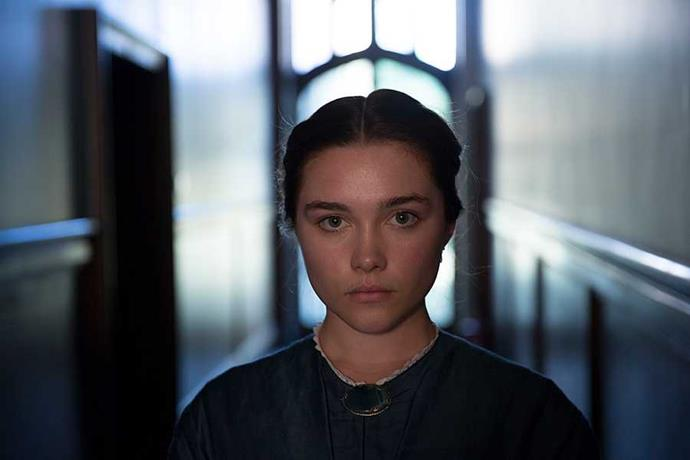 **Lady Macbeth** British indie *Lady Macbeth*, a re-imagining of a Russian novella which takes cues from Shakespeare's infamous villainess, is a fascinating character study. Florence Pugh plays Katherine, a young woman forced into a loveless marriage with a much older, psychologically abusive man. A far more intriguing (and disturbing) prospect than your average corseted Victorian heroine, she begins to rebel, first through an affair with a farmhand, then through a series of increasingly dark twist and turns that eventually result in murder.