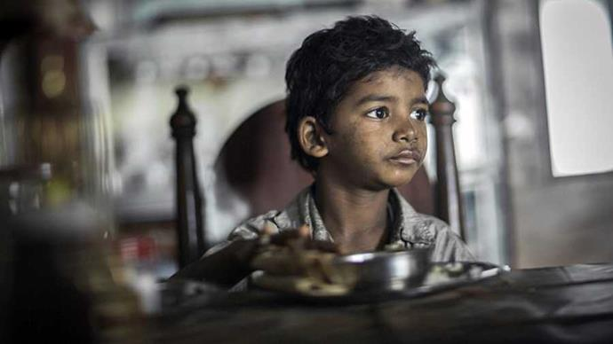**Lion** Yes, it falls neatly into the 'based on a true story' box that plays so calculatedly with Oscar voters, but Lion has too much heart to feel cynical. It's based on *A Long Way Home*, Saroo Brierley's adoption memoir, and sees Dev Patel play an adult Saroo embarking on an obsessive search for his Indian birth family using Google Earth, more than two decades after being separated from them as a child. As his adoptive mother, a bubble-permed Nicole Kidman has some incredibly moving scenes, but most memorable of all is the then-six-year-old Sunny Pawar, who plays the young Saroo in the film's opening scenes.