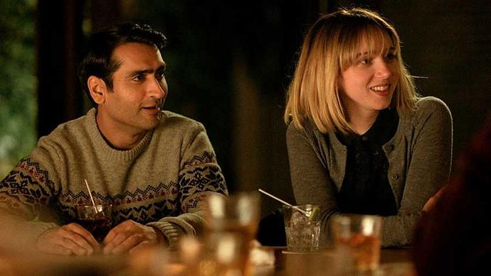 **The Big Sick** Boy meets girl, boy and girl fall in and out of love, girl develops rare and vicious auto-immune disease and falls into a coma. *The Big Sick* is based on the real-life romance of Silicon Valley star Kumail Nanjiani and (spoiler alert!) his wife, writer and producer Emily V. Gordon: the couple wrote the script together, with indie favourite Zoe Kazan filling in for Emily on-screen. The resulting rom-com is the most moving and memorable you'll see all year, from the tiny, heart-warmingly weird details of Kumail and Emily's relationship (Kumail's true-to-life Hugh Grant obsession is a highlight) to the deft, funny navigation of interracial relationships and family values. You'll cry, and you won't be mad about it.