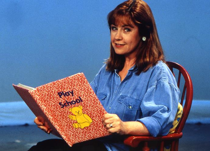 Flashback to when Noni was on Play School!