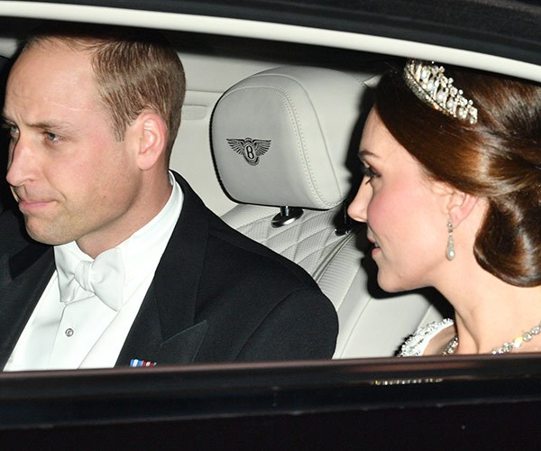 Kate was joined by her husband Prince William.