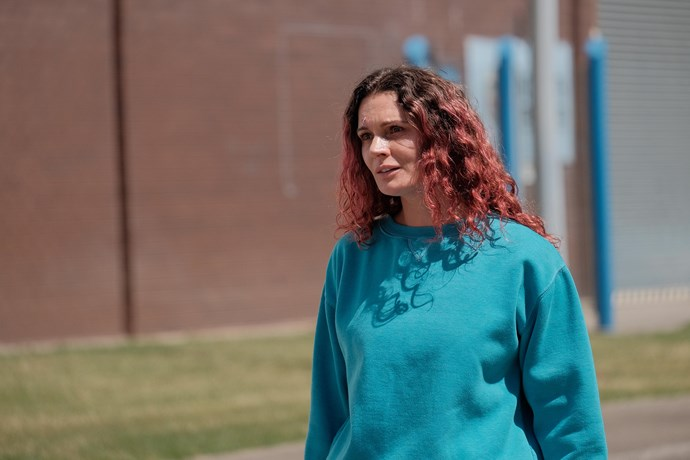 Danielle as Bea Smith in Wentworth.