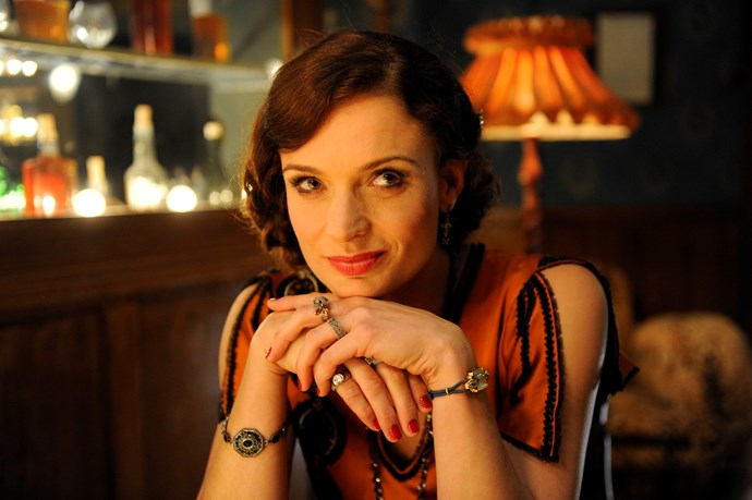 Danielle played the fierce Tilly Devine in Underbelly: Razor.