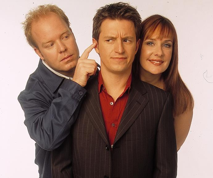 ***Rove* 1999: ** Comedian **Rove McManus** and his variety show were favourites with TV WEEK readers. He appeared in the magazine countless times, and also introduced us to future stars **Peter Helliar** and **Corinne Grant. **